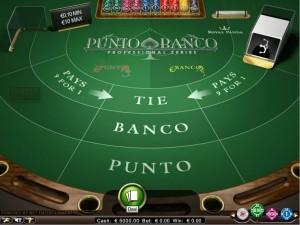 Punto Banco speelplezier